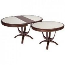 Столы кухонные раскладные со столешницей из камня и керамической плитки