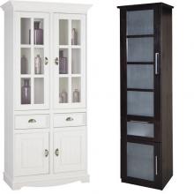 Шкафы витрины|Шкафы со стеклянными дверцами